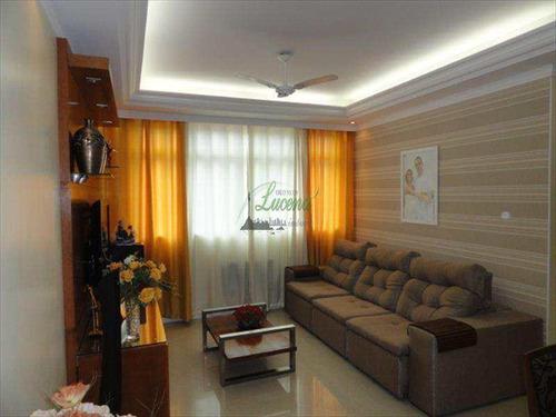 Apartamento Em Santos Bairro Gonzaga - V5061