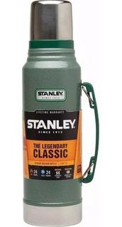 Termo Stanley Classic 1 Litro C/manija 24hs Frío/calor Nuevo