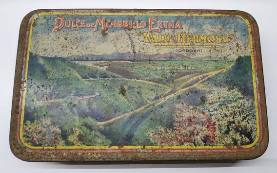 Lata De Membrillo Valle Hermoso - Año 1934