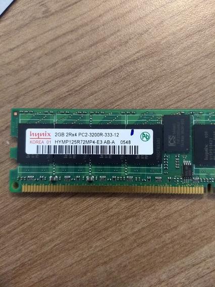 Memória Hynix 2gb Pc2-3200r Ddr2