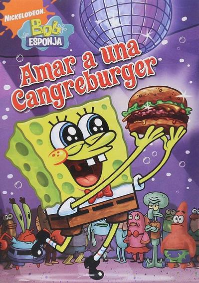 Bob Esponja Amar A Una Cangreburger 7 Episodios Serie Dvd