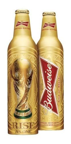 Budweiser Limeted Edition Metal Copa Brasil 2014 - Lacrada