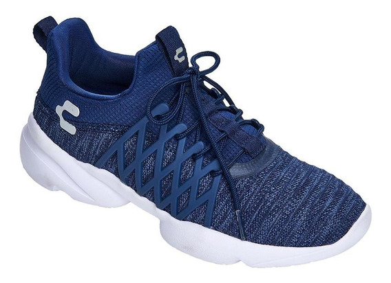 Charly Tenis Deportivo Mujer Textil Cómodos Azul Marino