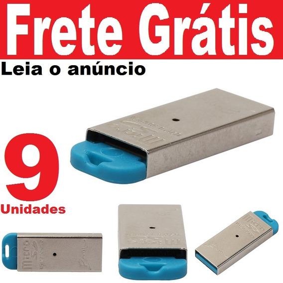 09und Leitor Usb Cartão Micro Sd Classe 10 Ou 4 Adaptador