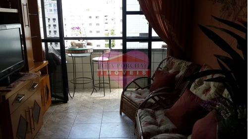 Imagem 1 de 10 de Apartamento Em Boa Vista Rua Pero Correa - São Vicente, Sp - 1481