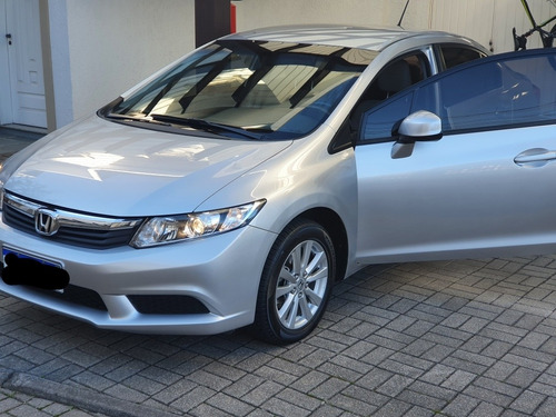 Honda Civic 2015 1.8 Lxs Flex Aut. 4p