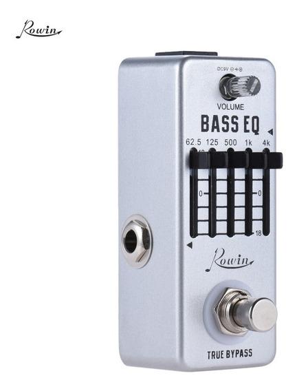 Rowin Bass Guitar Equalizer Effect Pedal 5-band Eq Liga De