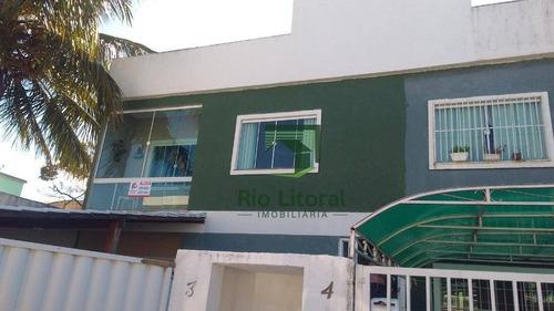 Apartamento Com 2 Dormitórios Para Alugar, 58 M² Por R$ 1.200,00/ano - Jardim Marileia - Rio Das Ostras/rj - Ap0583