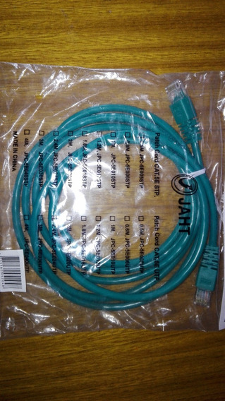 Patch Cord Jaht Cable Red Utp Cat 5e 2.4 M Combo X 5 Unid.