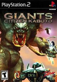 Giants: Citizens Kabuto - Ps2 Patch Leia Anúnc