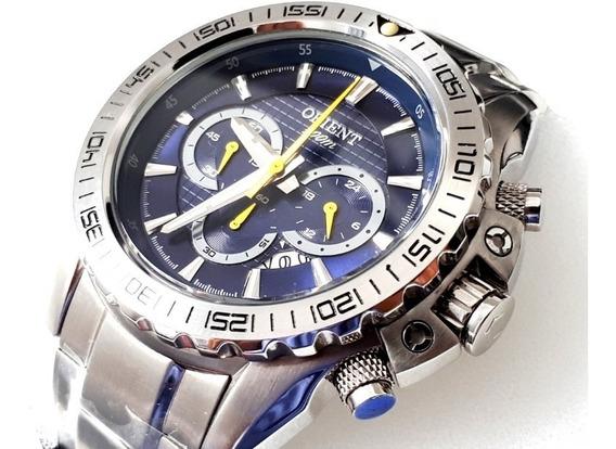 Relógio Orient Cronógrafo Mbssc067 - 100m - Novo Original