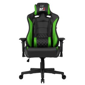 Cadeira Gamer Dt3 Sports Ravena Black Green 11539-9
