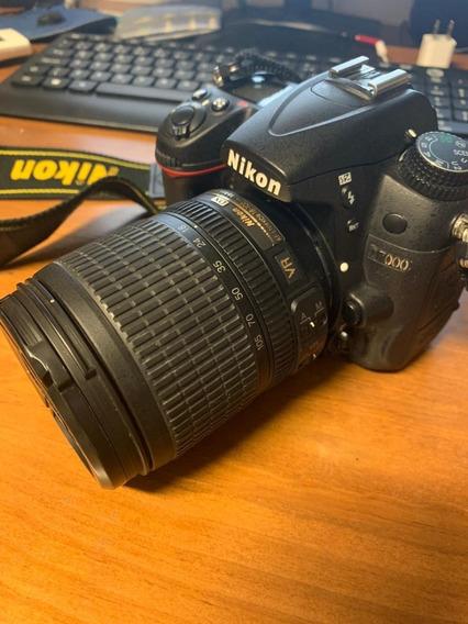 Câmera Nikon D7000 + Três Lentes - Pouco Usada! (completa)