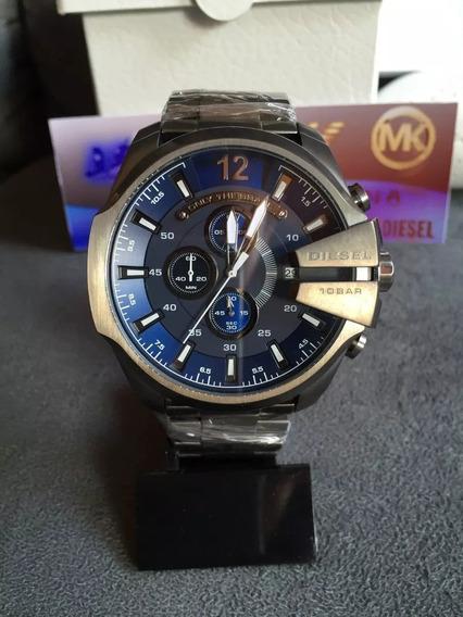 Relógio Diesel Dz4329 Cinza Original Completo Com Caixa