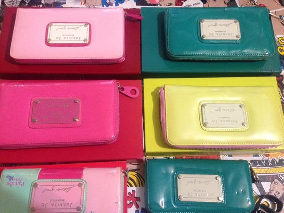 Billeteras Juanita Jo Colores Llamativos Lindos Diseños Ver5