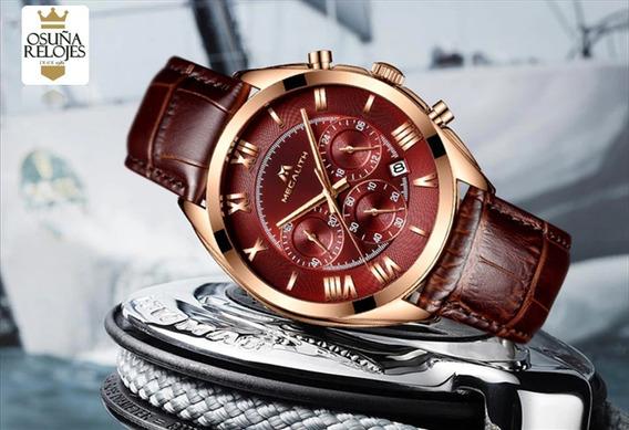 Relógio Masculino Esportivo Megalith Elegante 100% Funcional