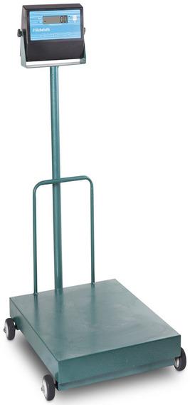 Balança Eletronica Móvel 300kg X 100g 40x50 Coluna E Bateria
