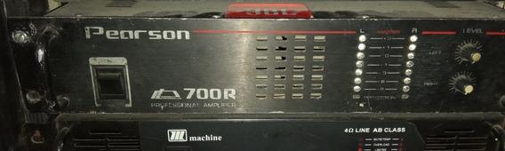 Amplificador Pearson P700. 700rms 4 Ohms.