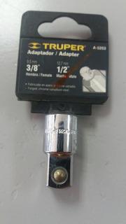 Dado Adaptador Rachet De 3/8 A 1/2 Truper A5253