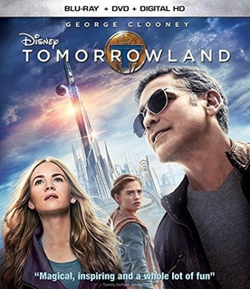 Blu-ray : Tomorrowland (with Dvd, , Digital Theater Syst...