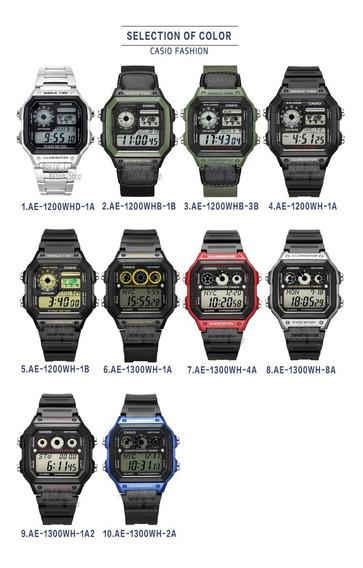 Relógio Casio Original Na Caixa Modelo Ae-1200whd-1a