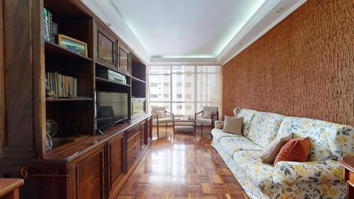 Apartamento Com 3 Dormitórios À Venda, 107 M² Por R$ 1.292.000,00 - Campo Belo - São Paulo/sp - Ap1595