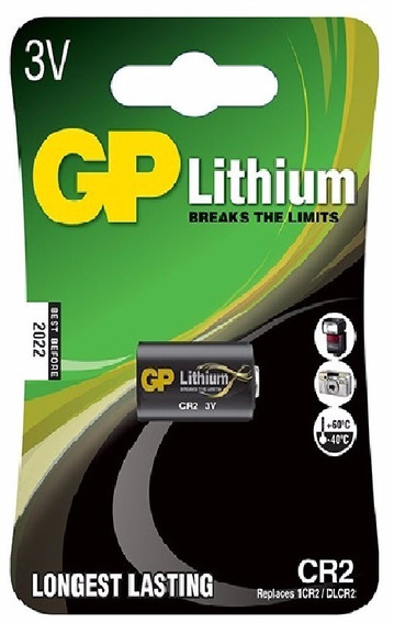 10 Bateria Pilha 3v Cr2 Lithium Photo Gp