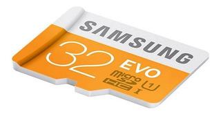 32gb Samsung Class 10 48mb/s Tf / Micro Sd Cartão De Memória