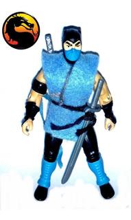 Muñeco Mortal Kombat Sub-zero Articulado Hasbro C/ Accesorio