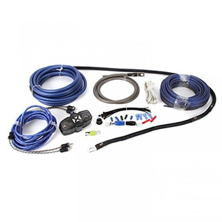 Nvx 100% Copper 4-gauge Car Amp Install Kit W/ 2-channel Rca