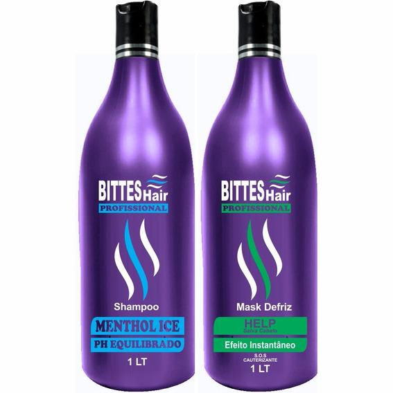 Kit Cauterização Profissional Bittes Hair S.o.s Protetor