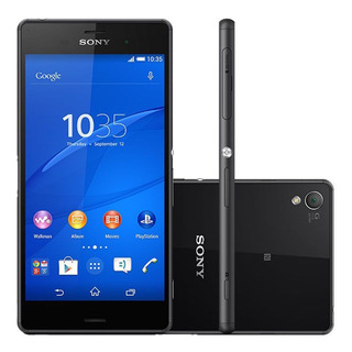 Sony Xperia Z3 D6643 4g Tv Digital Tela 5,2 16gb 20mp Outlet
