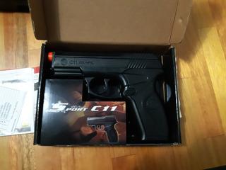 Pistola Para Airsoft C11 Co2 6mm