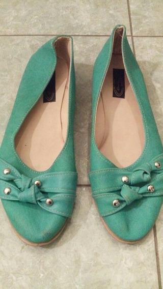 Chatitas Verdes Guillerminas Zapatos