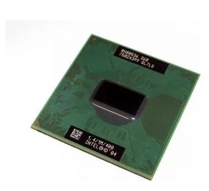 Processador Intel Celeron M 360 1.4ghz 400 Mhz Sl8ml
