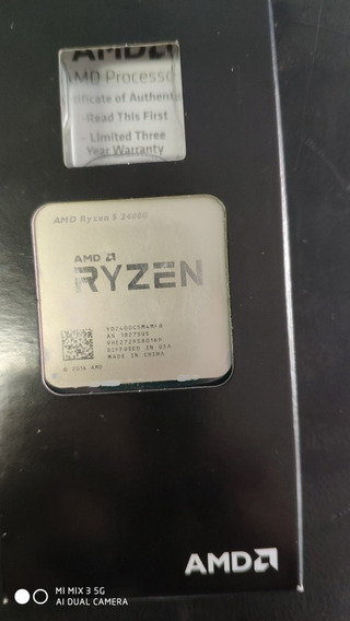 Processador Ryzen 5 2400g Com Cooler Original