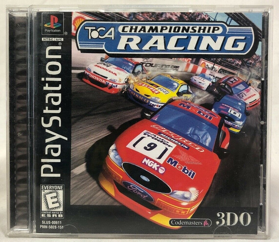 Ps1 - Toca Championship Racing - Original Sem Riscos