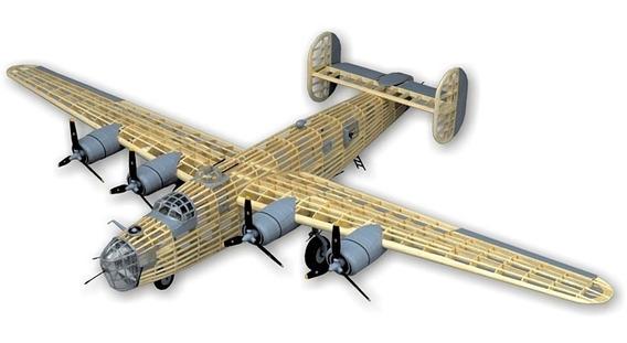 Guillows Kit P/construir B-24d Liberator 2003