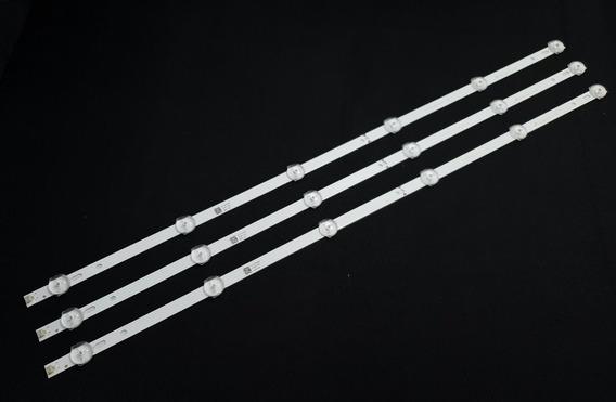 Kit C/3 Barras De Leds Tv Philco - Ph32u20dsgw Ph32u20
