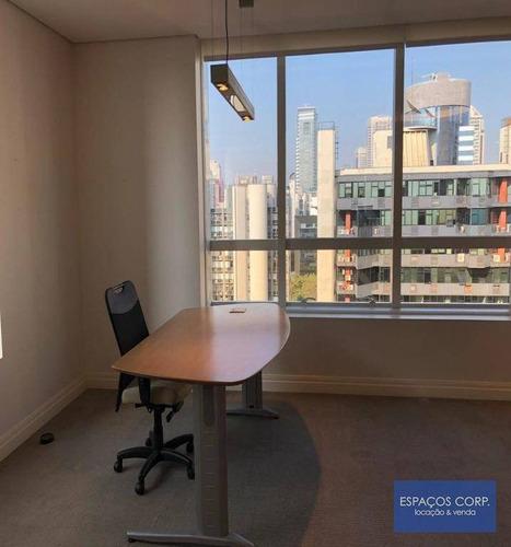 Conjunto Comercial À Venda, Com Renda, Com 96m² - Brooklin - São Paulo/sp - Cj2419
