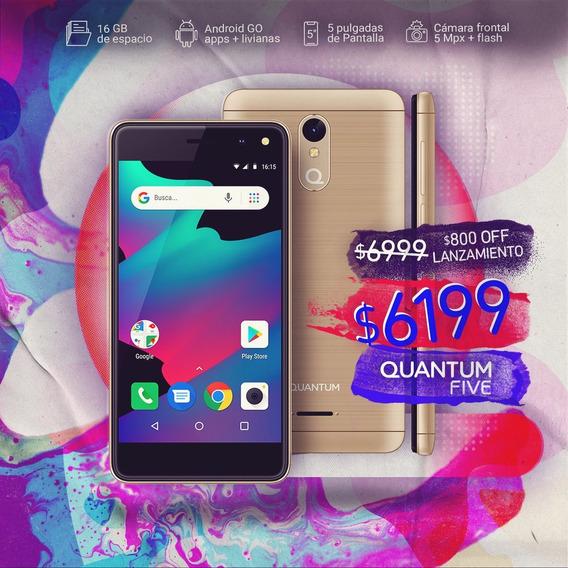 Celular Libre Quantum Five 5 Pulgadas Quadcore 5mp