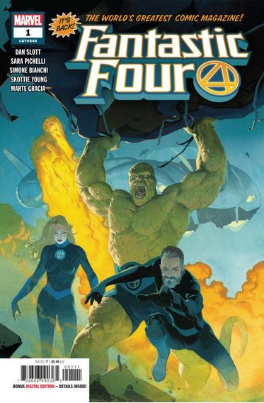 Fantastic Four #1 (2018) Lgy#646 Marvel