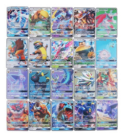 Lote 200 Cartas Pokemon Com 1 Carta Gx, Português!