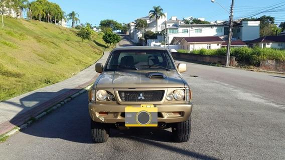 Mitsubishi L200 2000 2.5 Gls Cab Dupla 4x4 4p