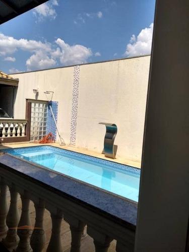 Casa Com 3 Dormitórios À Venda, 257 M² Por R$ 700.000 - Residencial Furlan - Santa Bárbara D'oeste/sp - Ca0194