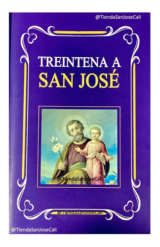 Libro: Treintena A San José