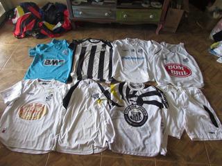 Lote De Camisas Do Santos E