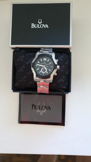 Relógio Bulova Modelo Crono Original.