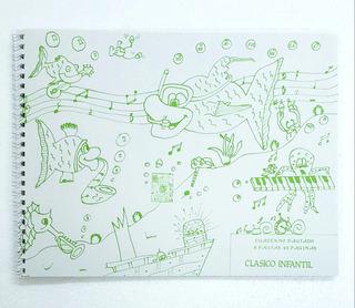 Cuaderno Pautado Infantil 48 Paginas