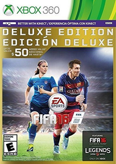 Fifa 16 Edicion De Lujo Xbox 360